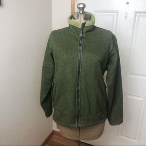 REI Women's Moss Green Jacket Coat